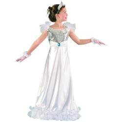 Déguisement princesse - fille - blanc