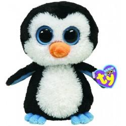 Ty - peluche pingouin - noir - enfant