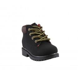 Chaussures montante à lacet et zip - bébé garçon - noir