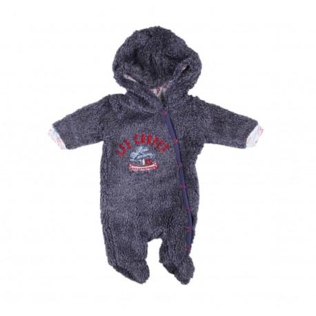 Lee cooper - combinaison - gris et bleu - bébé mixte