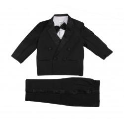 Costume 5 pièces cérémonie - garçon - noir