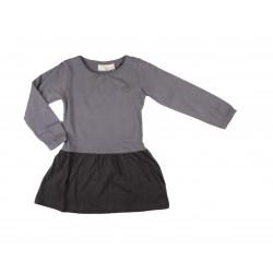 Robe jersey - fille - gris foncé