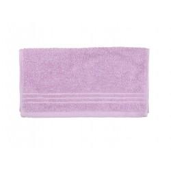 Serviette uni éponge 565g/m² 30x50 cm violet