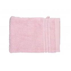 Gant de toilette uni éponge 565g/m² 16x21 cm rose