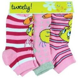 Titi - Lot de 3 chaussettes - enfant - modèle aléatoire