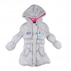 Disney reine des neiges - doudoune intérieur polaire - fille - gris