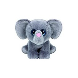 Ty - peluche Whopper l'éléphant 15 cm - gris - enfant