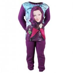 Descendants - pyjama polaire - fille - violet foncé