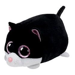 Teeny Ty - peluche Cara le chat - noir - enfant