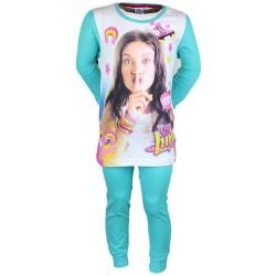 Soy Luna - pyjama deux pièces - fille - bleu