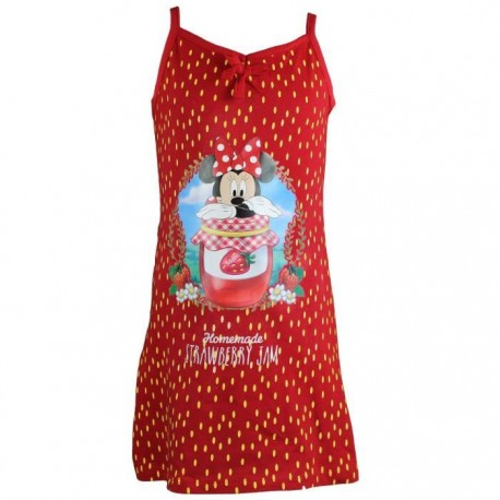 Minnie Mouse - nuisette - fille - rouge