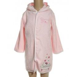 Charmmy Kitty - peignoir 100% coton - rose - bébé fille