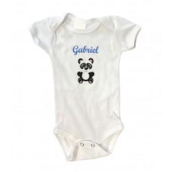 Body coton à personnaliser - bébé garçon