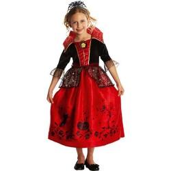 Déguisement princesse des ténèbres - fille - noir /rouge