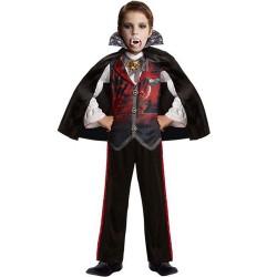 Déguisement 3/5 ans vampire - garçon - noir