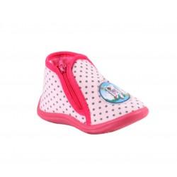 Babygros chaussons à zip - bébé fille - rose