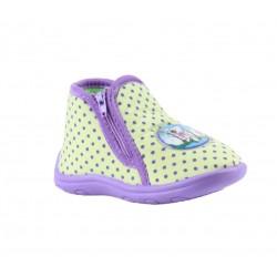 Babygros chaussons à zip - bébé fille - vert