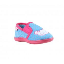 Babygros chaussons à enfiler - bébé - bleu