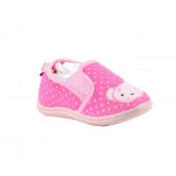 Babygros chaussons à enfiler - bébé fille - rose