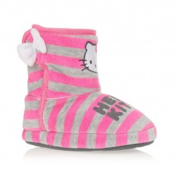 Hello Kitty chaussons à scratch - rose - fille
