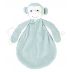 Happy Horse Doudou Singe Marlo 26 cm - Bleu