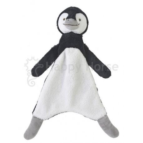 Happy Horse Doudou Pingouin Puca 23 cm - Noir