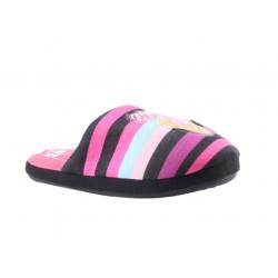 Barbie chaussons - noir - fille