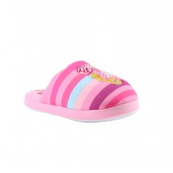 Barbie chaussons - rose - fille