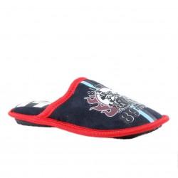 Chaussons à motif moto - rouge - garçon