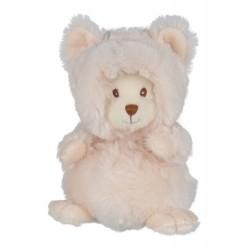 Bukowski - peluche souris blanche 15 cm - bébé mixte