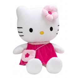 Peluche Hello Kitty 40 cm fuschia