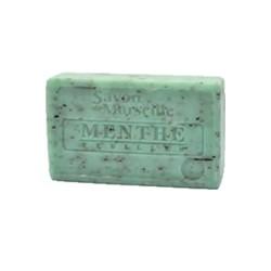 Savon de Marseille 1802 le Chartelard menthe feuilles