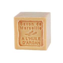 Savon de Marseille en cube 1802 le Chartelard huile d'argan