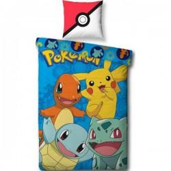 Parure de lit Pokemon 140x200 cm en coton