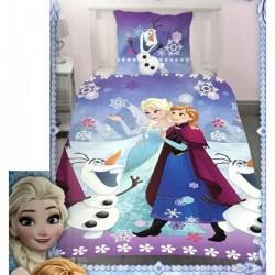 Parure housse de couette la Reine Des Neiges Disney - en Polycoton