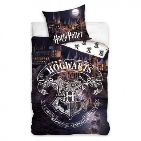 Parure housse de couette Harry Potter En coton enfant 140*200