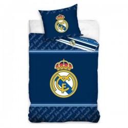 Housse de couette Real Madrid C.F En Coton bleu enfant 140*200