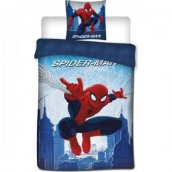 Parure Housse de Couette Spiderman + Taies d'Oreiller Spiderman