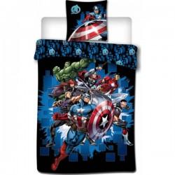 Parure Housse de Couette Avengers + Taies d Oreiller Avengers