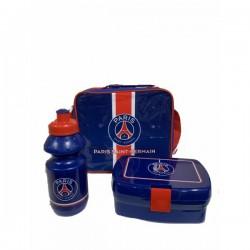 Sac isotherme Paris Saint Germain avec boîte à goûter et gourde