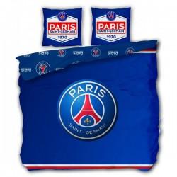 Parure de lit Paris Saint-Germain 240 X 220 Cm - PSG -En Coton