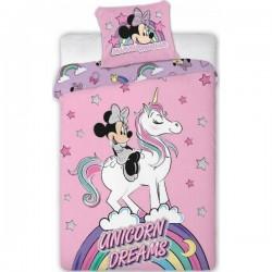 Parure Housse de couette Minnie Avec Licorne