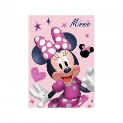 Plaid Polaire Minnie Disney