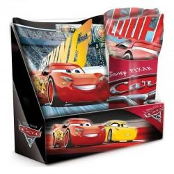 Coffret Coussin avec plaid Cars Disney