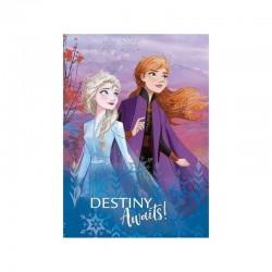 Plaid Polaire Frozen 2 Disney