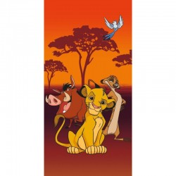 Drap de plage ou drap de bain Le Roi Lion Disney