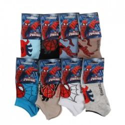 Marvel Spiderman - lot de 8 paires de chaussettes - garçon