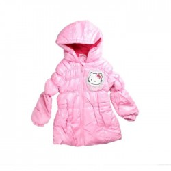 Doudoune matelassée Hello Kitty enfant rose
