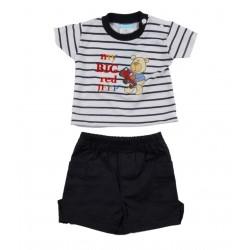 Ensemble bébé garçon 2 pièces - tee shirt et short