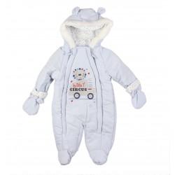 Combinaison baby circus - bébé garçon - bleu
